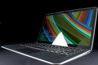 Dell XPS 13 Ultrabook front angle 2