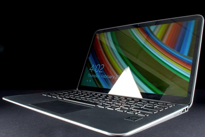dell xps  review ultrabook front angle