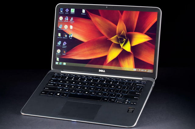 Dell XPS 13 Ultrabook front angle