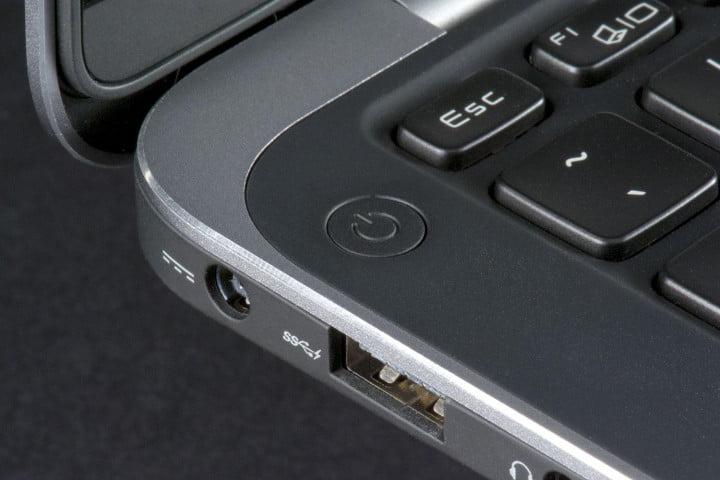 dell xps  review ultrabook power button corner