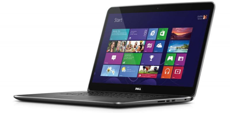 dell xps  touch review press image ( )
