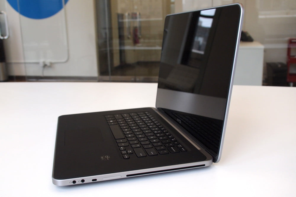 Dell XPS 15 review side angle