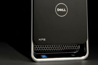 Dell XPS 8700 Desktop bottom angle
