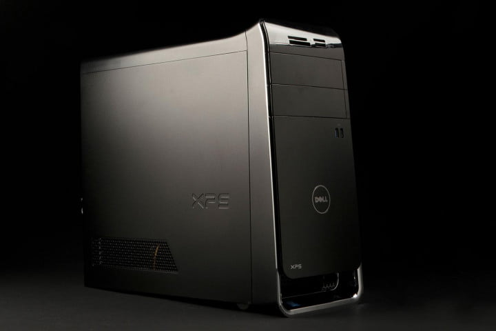 dell xps  review desktop front angle