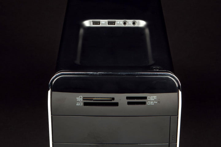 dell xps  review desktop top angle