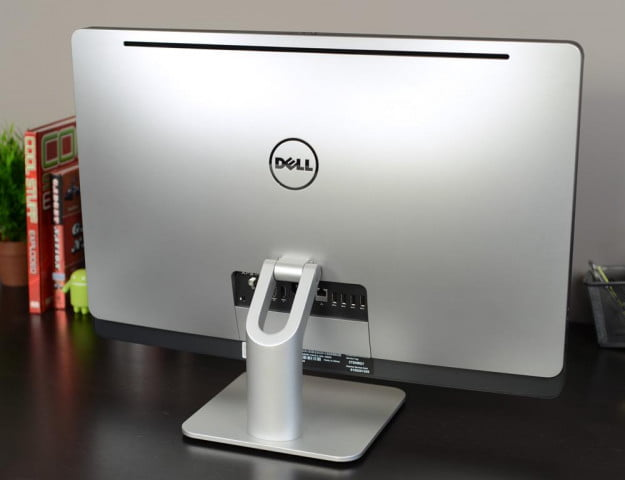 Dell XPS One 27 review all in one rear desktop windows pc