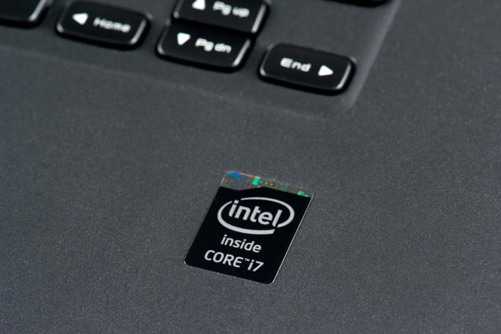 dell xps  review intel logo