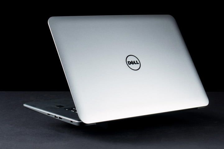 dell xps  review lid rear