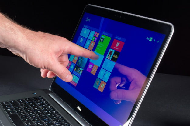 Dell XPS 15 review touchscreen