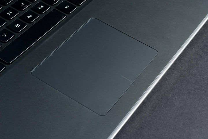 dell xps  review trackpad