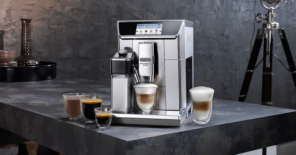 app controlled coffee machine