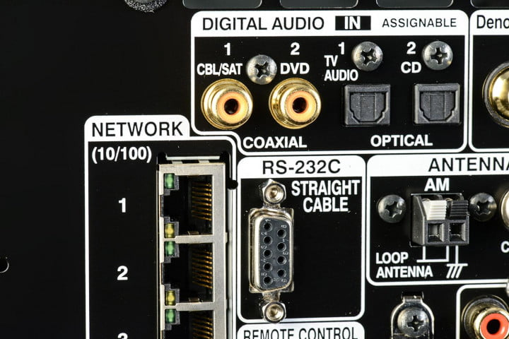denon avr  ci review av receiver inputs macro