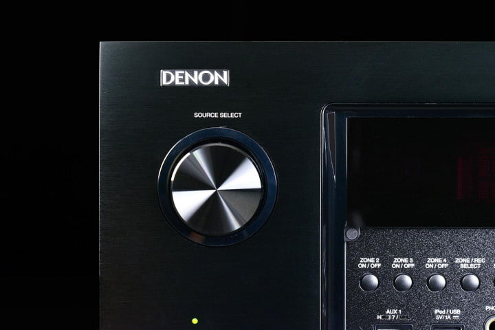 denon avr  ci review av receiver source select