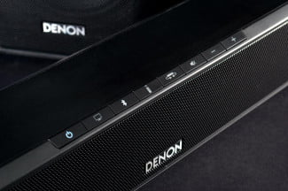Denon DHT S514 review top buttons