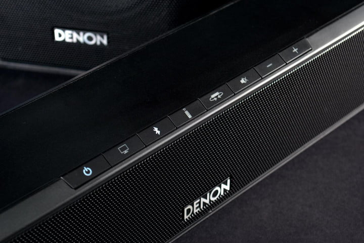denon dht s  review top buttons