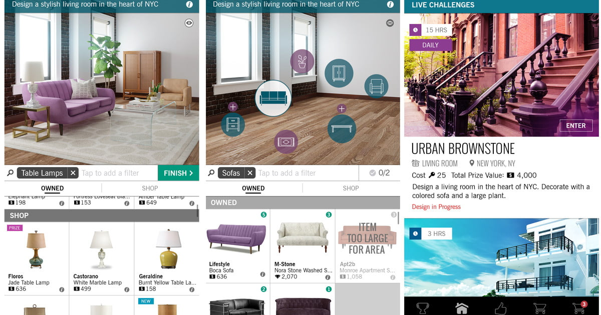 39 design home 39 is a game for interior designer wannabes digital trends Home design app games