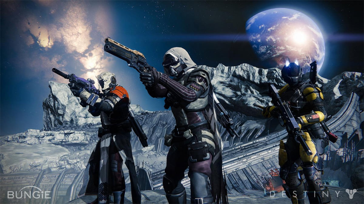destiny trailer offers broad overview online shooter action works