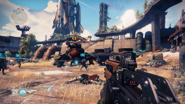 destiny beta launch first sony playstation platforms screenshot
