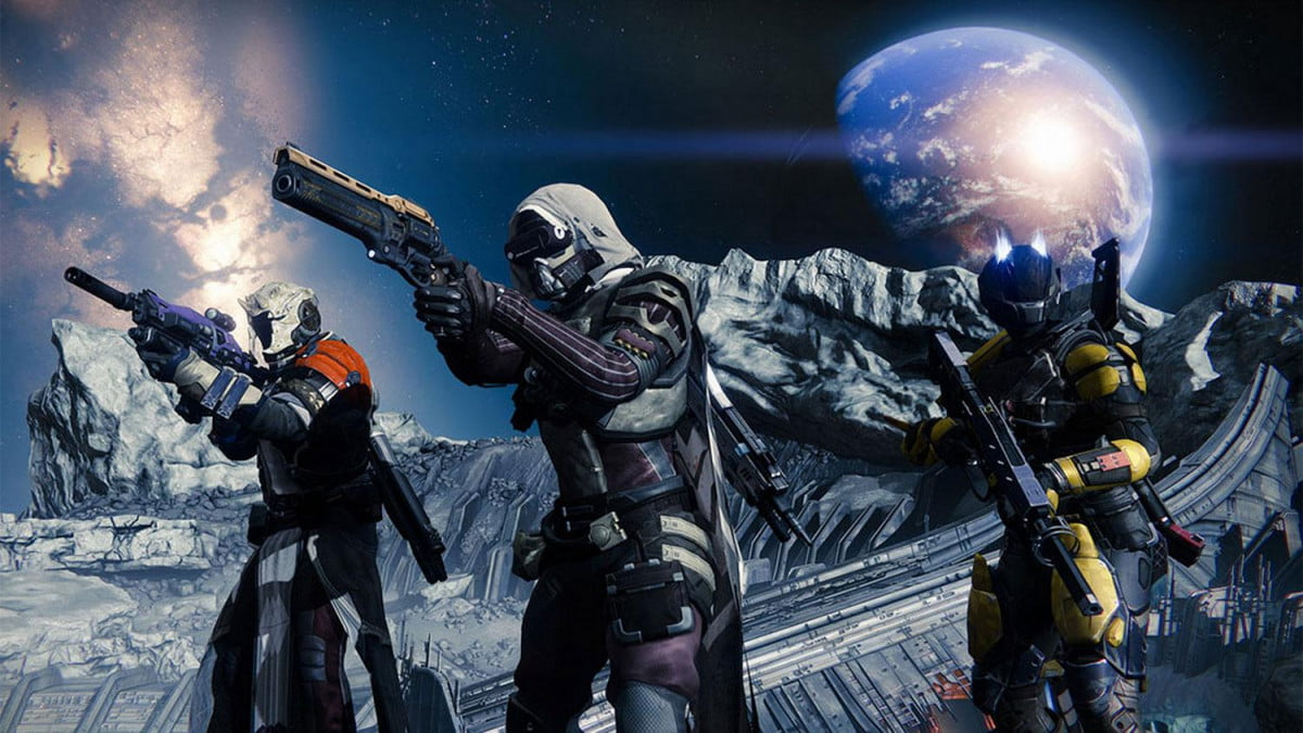 bungie confirms destiny beta players getting clean start launch the game screenshot