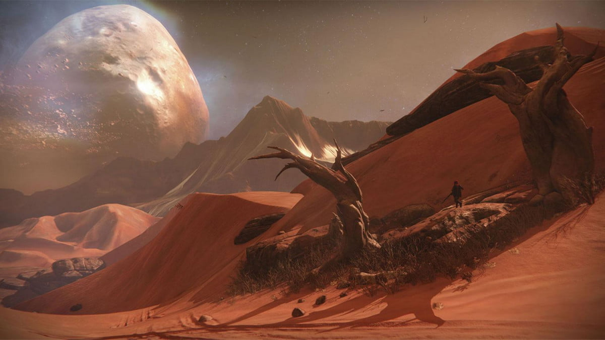for bungie straddling four consoles in destiny was a balancing act the game screenshot