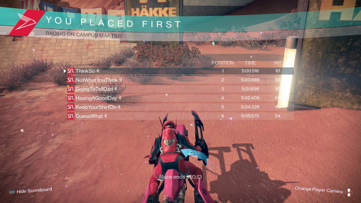 destiny sparrow racing league hands on