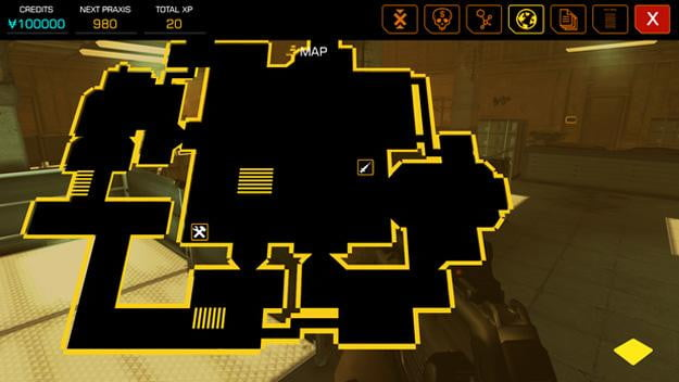 deus ex the fall review map