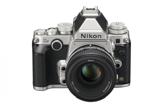 The Df is the latest DSLR from Nikon. Other manufacturers of DSLRs include Canon, Sony, and Pentax.