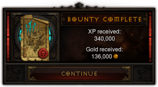 Diablo 3 Bounties