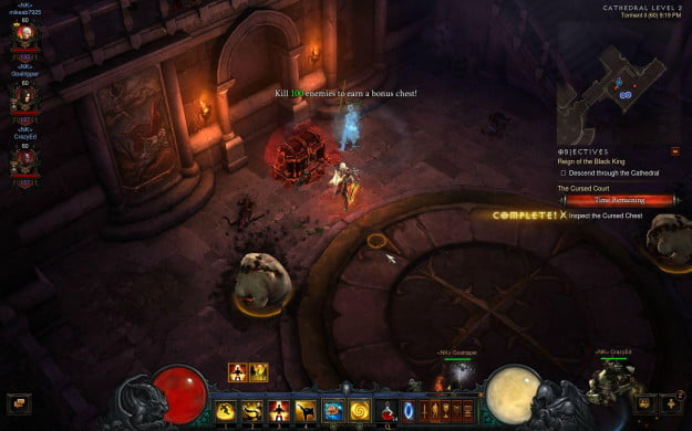 Diablo 3 Cursed Chest