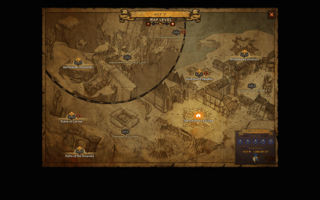 Diablo 3 Reaper of Souls Bountymap_Act5