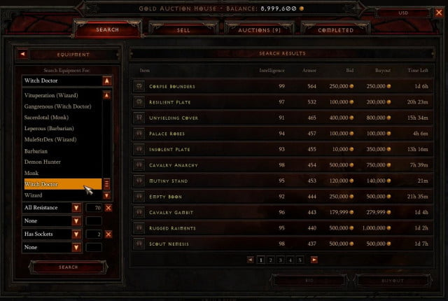 diablo iii auction house to be shut down in march