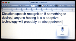 OS X Mountain Lion Dictation