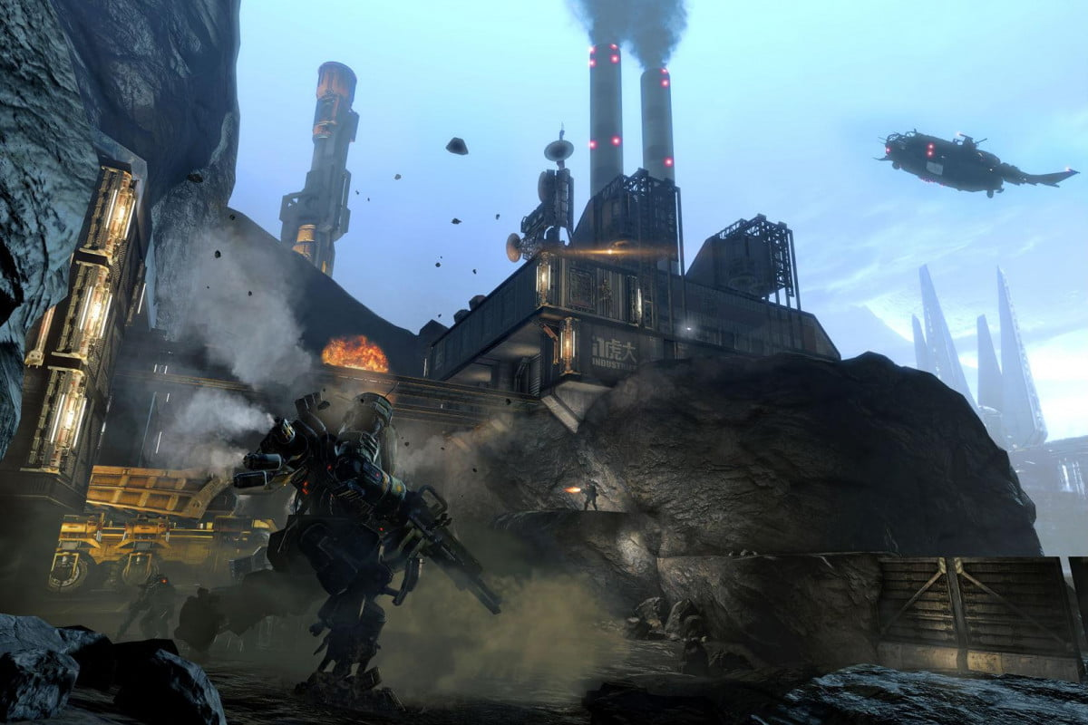 check dig site first new map titanfall frontiers edge