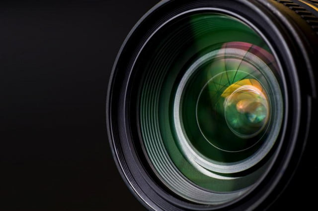 camera lens buying guide close up of a