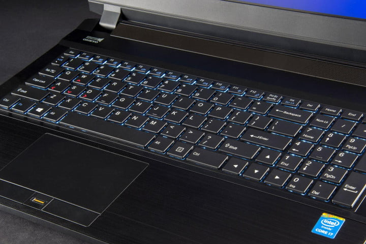 digital storm triton review laptop keyboard