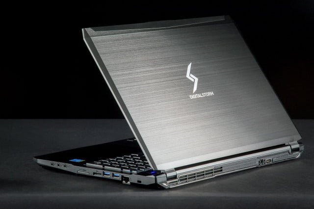 Digital Storm Triton laptop lid