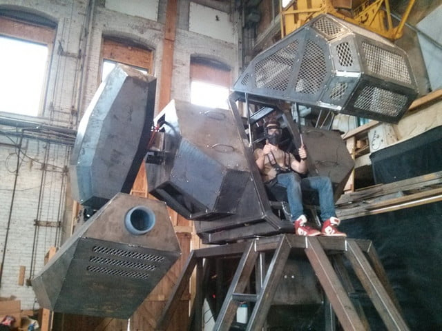 megabots estrena serie robots youtube mark i