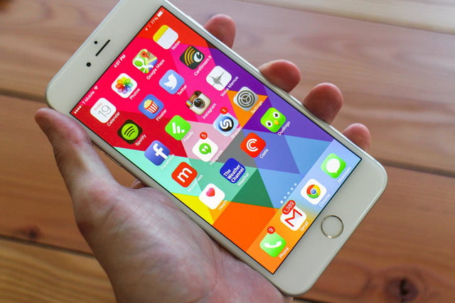 apple realidad aumentada iphone  plus review screen angle x ( )