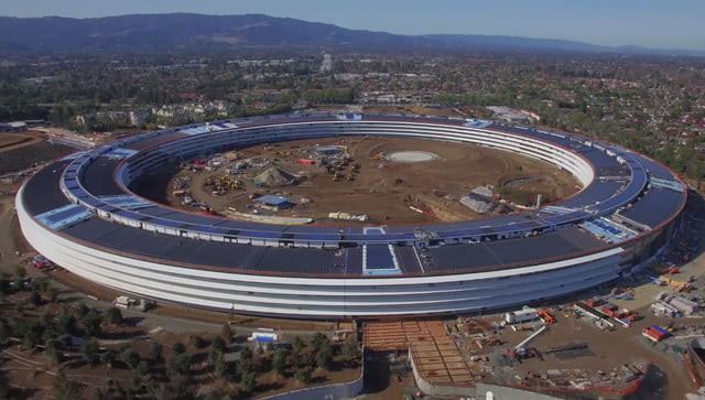 exigencias apple constructores spaceship campus  x