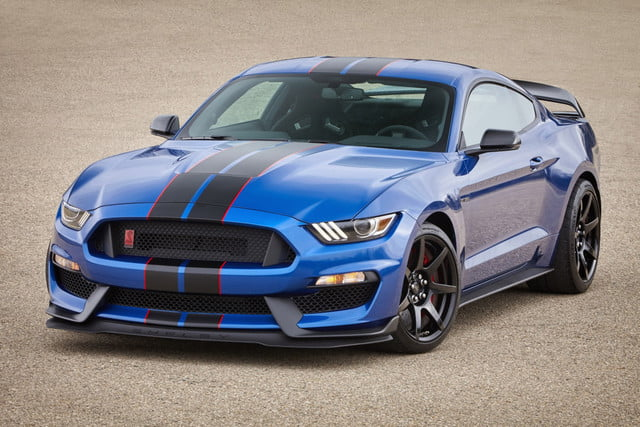 mustang shelby gt  hp ford