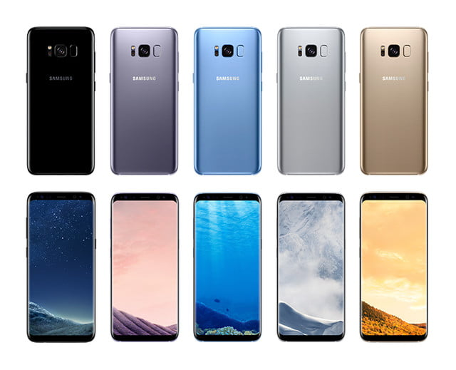 samsung galaxy microsoft edition s  product colors back font