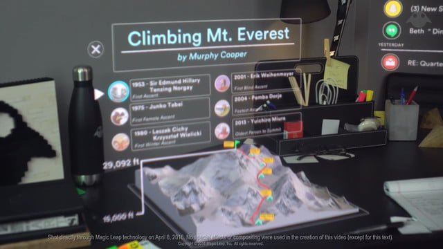 magic leap quiere revolicionar la realidad virtual