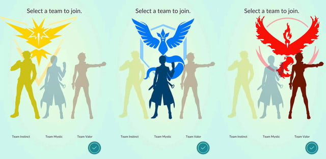 pokemon legendarios podrian aparecer go teams