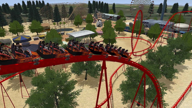 rollercoaster dream para playstation vr ps  montana rusa dreams