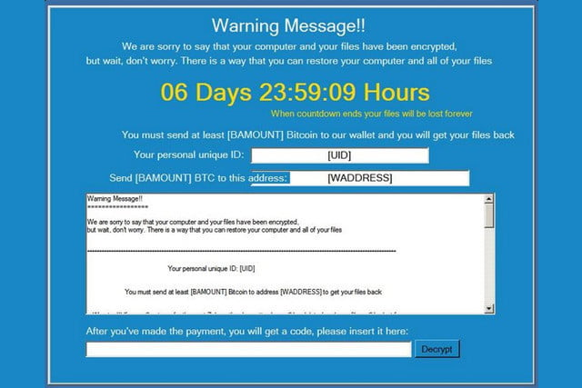 el ransomware popcorn time se elimina si infectas a amigos ransomwareattack  x
