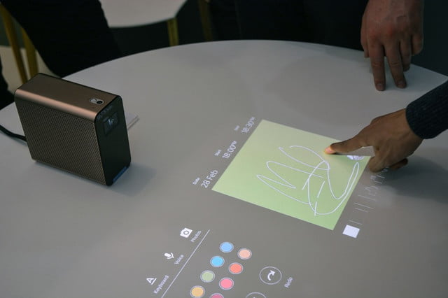 proyector interactivo sony xperia projector  x