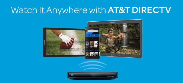 directv now streaming watch it anywhere with at amp t
