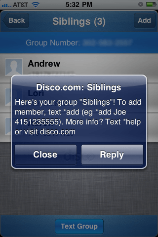 Disco-Google-Messenger-iPhone-app