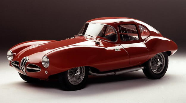 1952 Alfa Romeo Disco Volante side