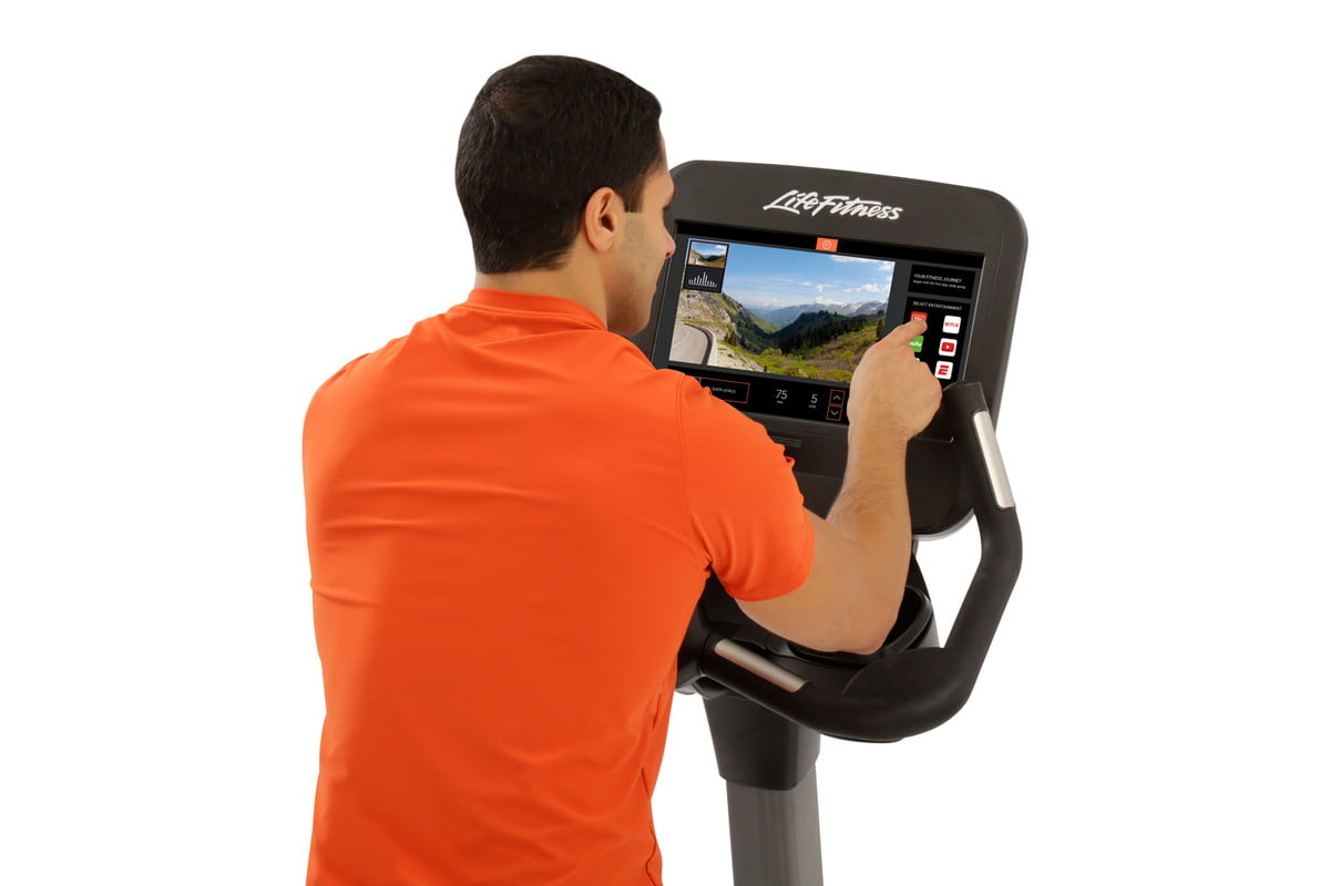 virzoom brings vsports to health clubs vr arcades and lan centers ces  discover se console upright bike male exerciser browsi